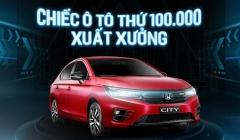 Honda Việt Nam Xuất Xưởng Xe Ô Tô Thử 100.000 Chiếc Xe CRV City Civic Jazz Accord Brio Góp Doanh Số