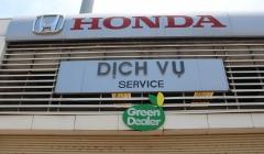 Đại Lý Honda Ô Tô Việt Nam Đạt Tiêu Chuẩn Môi Trường Xanh