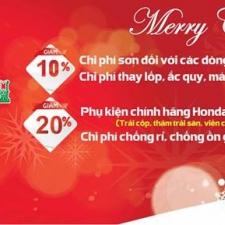 Honda Giải Phóng Khuyến Mại Bảo Dưỡng Xe Ô Tô Đón Giáng Sinh 2018 Và Tết 2019