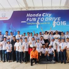Honda Việt Nam tổ chức lái thử Honda City 2016 với Fun To Drive