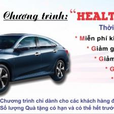 """Chương trình khuyến mại dịch vụ đặc biệt tri ân khách hàng """"Health Check Promotion"""""""