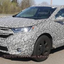 Honda CR-V 2018 Xe xuất đầu lộ diện ra mắt