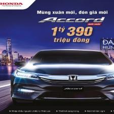 Honda Accord 2017 Nhập Khẩu Giảm Giá Xe Còn 1.390.000.000 VNĐ Kèm Khuyến Mại