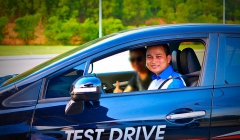 Honda ô tô Giải Phóng đào tạo lái xe an toàn năm 2016 cho khách hàng