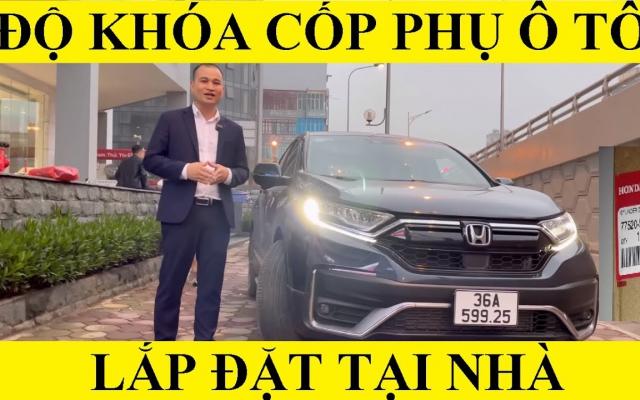Khóa Cốp Phụ HONDA CRV