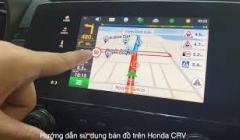 Hướng Dẫn Sử Dụng Bản Đồ Navitel Trên Honda CRV 2021,Sử Dụng Google Map,Carplay và Androi Auto