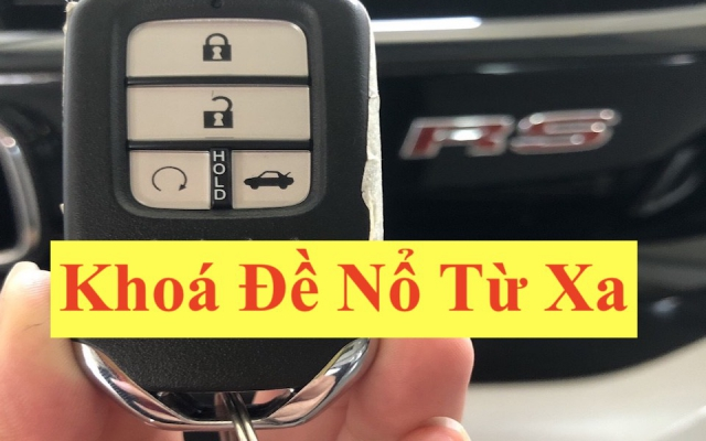 Chìa Khoá Đề Nổ Từ Xa Honda CRV