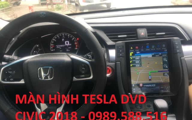 Màn Hình Tesla DVD Cho Honda Civic 2018