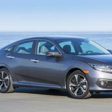 Honda Civic 2017 giành vị trí quán quân,mẫu xe bán chạy nhất tại Mỹ trong tháng 4/2016