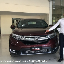 Honda CRV 1.5G Màu Đỏ Giá Xe Với 350 Triệu Mua Tại Hà Nội Sài Gòn Việt Nam Trả Góp