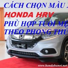 Cách Chọn Màu Xe Honda HR-V Theo Tuổi Phong Thủy 2018