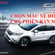 Honda CRV 2017 Ra Mắt Phiên Bản Mới Giá Hấp Dẫn