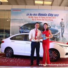 Honda City 2017 Phiên Bản Mới Ra Mắt Tại Honda Giải Phóng,Chi Tiết Hình Ảnh Sự Kiện