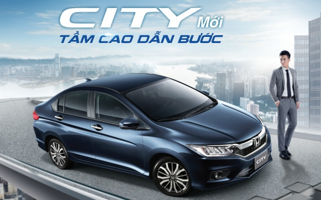 Honda City 2017 New 1.5CVT
