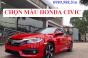 Chọn Màu Honda CIVIC 2018 Theo Tuổi Phong Thủy Màu Trắng Đỏ Đen Xám Bạc Xanh
