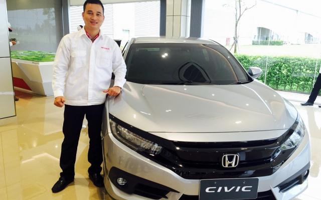 Bộ Tự động gập gương lên kính Cho Xe Honda Civic 2016-2018
