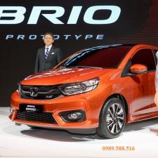 Honda Brio Ra Mắt Tại Việt Nam Motor Show 2018 Giá Xe Chi Phí Lăn Bánh