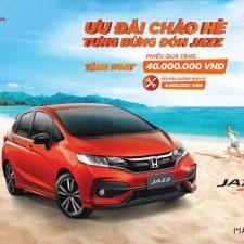 Khuyến Mại Honda Jazz 2019 Chào Hè Từ Honda Việt Nam