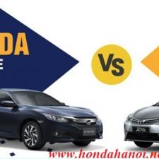 Nên Mua Honda Civic 1.8E Hay Toyota Altis 1.8G 2018 So Sánh Đánh Giá Xe