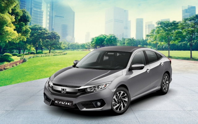 Honda Civic 1.8E-2020