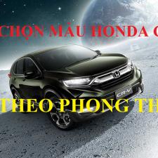 Chọn Màu Honda CRV 2018 Nhập Khẩu Theo Tuổi Phong Thủy