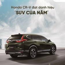 Honda CRV 2018 Được Đánh Giá Là Xe SUV An Toàn Nhất Tạp Chí Motor Trend