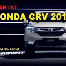 Trên Tay Honda CRV 2018 Ra Mắt Tại Honda Giải Phóng 22-11-2017