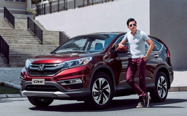 Honda CRV 2.4TG 2017
