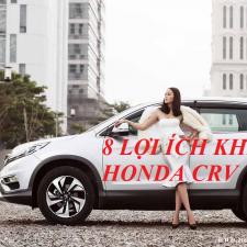 8 Lý Do Bạn Nên Chọn Mua Honda CRV 2017 ?
