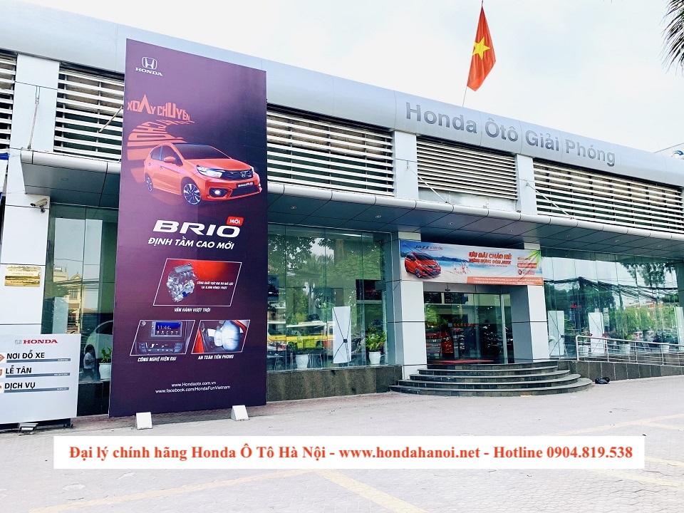Đại lý chính hãng Honda Ô Tô Giải Phóng Hà Nội