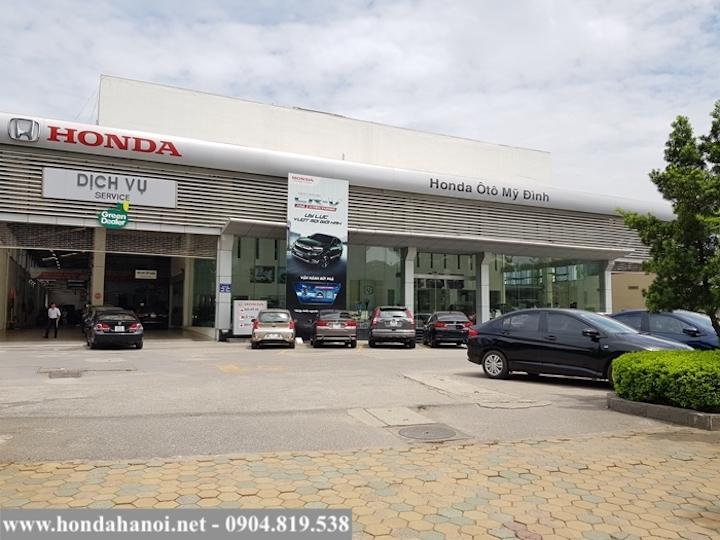 Đại lý chính hãng Honda Ô Tô Mỹ Đình Hà Nội
