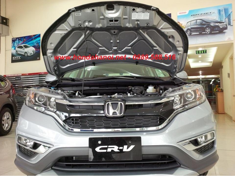 Honda CRV 2013 2014 2015 2016 2017 lắp tấm cách nhiệt nắp capo