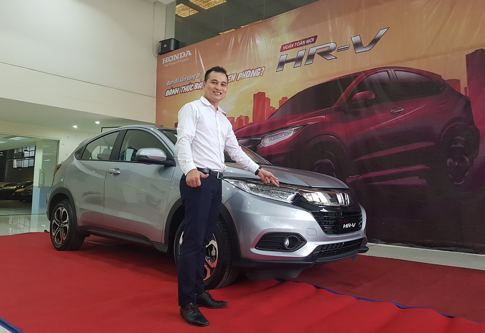 dau xe honda hr-v 2018 model 1.8G