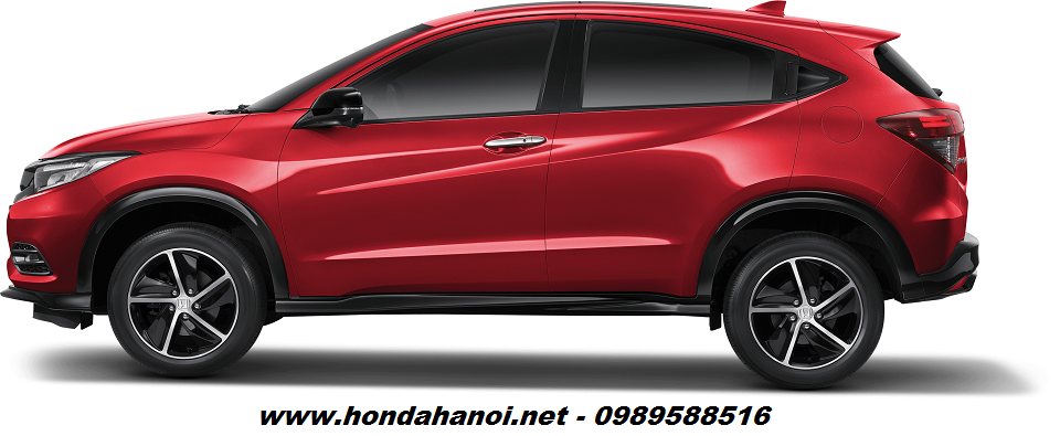 than xe hong xe honda hrv 2018