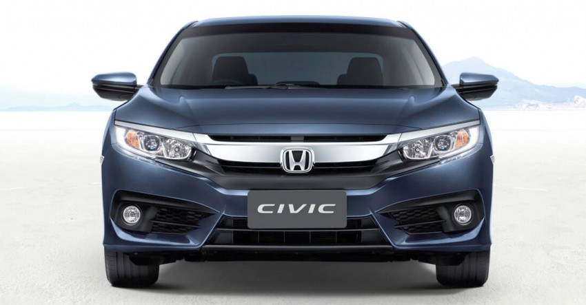 dau xe honda civic 1.5 turbo 2017