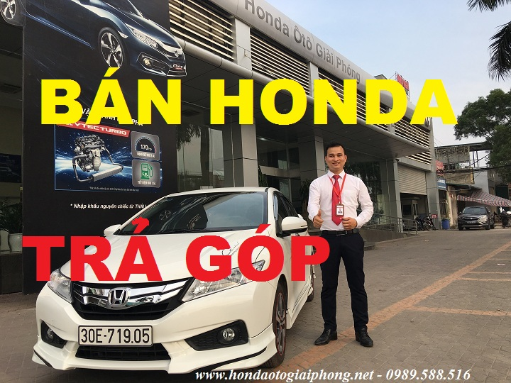 mua xe honda o to tra gop o dau city crv civic accord odyssey