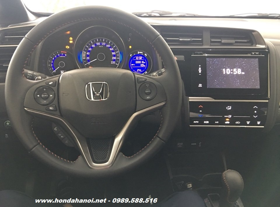 khoang lai noi that honda jazz 2017 model 2018