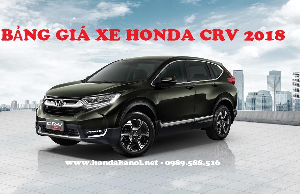 bang-gia-xe-honda-crv-2018